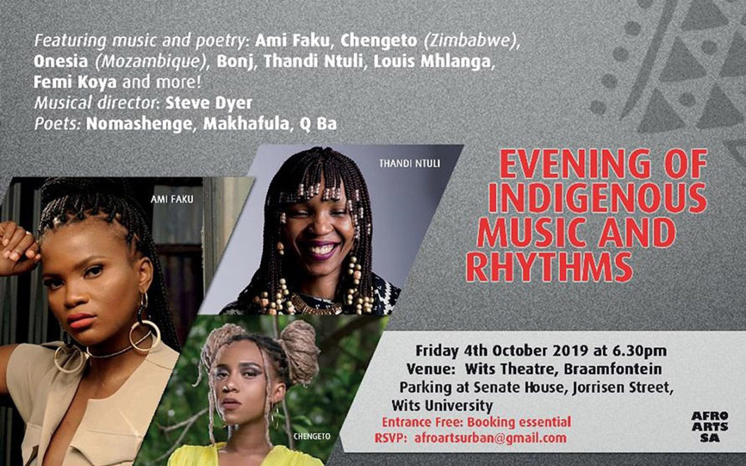 DAC Cultural Programme for Indigenous Languages Conference – Music Evening Programme (2019)