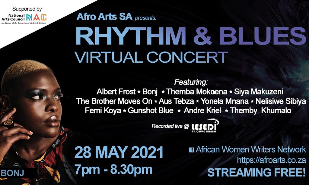 Rhythm & Blues Virtual Concert and Workshop Programme celebrating Africa Month.
